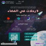 وزارة التعليم والهيئة السعودية للفضاء تُطلقان البرنامج الصيفي «9 رحلات للفضاء»