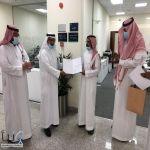 مدير عام جمرك الرياض خالد الرميح يكرم الحارثي