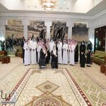 سمو أمير منطقة الرياض يكرم الفائزين في مسابقة تطوير موقع جبل أبو مخروق
