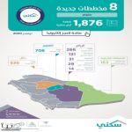 """""""سكني"""" يُطلق 8 مخططات جديدة في 4 مناطق توفّر أكثر من 1800 أرض"""