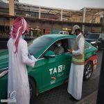 """""""#موارد_الرياض"""" تضبط عمالة بمعرفات سعودية بأحد تطبيقات تأجير المركبات"""