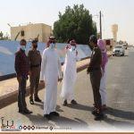 المهندس #العجمي  يجتمع  مع المقاولين المنفذين لمشروع إنشاء منتزه الضاحي ومشروع تطوير طريق الملك عبدالله