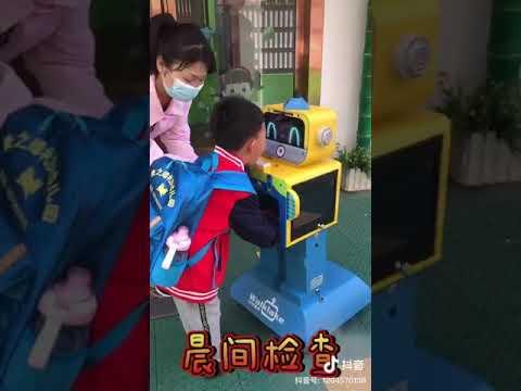 هكذا بدت اجراءات عودة الطلاب الى المدارس في الصين