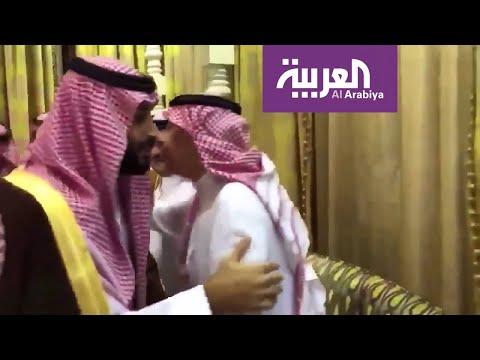 ولي العهد يعزي سعود ومحمد بن نايف في وفاة والدتهما