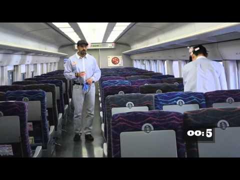 لقطات مميزة - تنظيف القطارات في اليابان